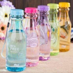 1 Pc Creative Bottle Leak-proof Lemon Juice Drink ware Unbreakable Water Bottles