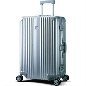 Mercedes Benz Suitcase Carry Bag 65L Aluminum Silver Rare NEW