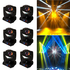 6 Stück 230W 7R Beam Moving Head, Spot 8-Prisma Gobo Sharpy Entladungslampe DMX