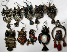 Unbranded Brass Crystal Costume Earrings