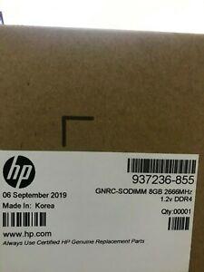 HP GNRC-SODIMM 8GB 2666MHz 1.2v DDR4 - 937236-855