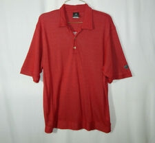 Nike Golf Dri Fit Short Sleeve Polo Red Shirt Size SMALL S Mens Clothing