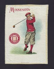 S21 Tobacco Silk - Large Athlete & College Seal - Minnesota University - Golf