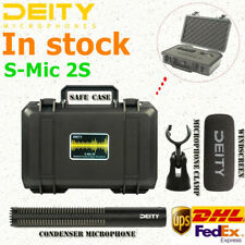 Deity S-Mic 2S Super Cardioid Shotgun Microphone Ultra Low Off-Axis Coloration
