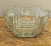 Vintage Cut Glass Fruit/Trifle Bowl 22x10.5 Cm