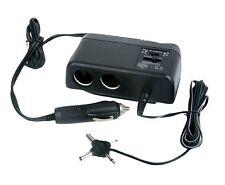 NEW Pyle PL12V2AC Plug In Car 1 TO 2 Cigarette Lighter Multiplier