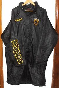 AEK ATHENS AUTHENTIC FOOTBALL JACKET BY KAPPA XL RARE GREECE GREEK