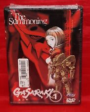 Gasaraki Vol. 1: The Summoning (DVD, 2000) Ryusoke Takahashi Animation BRAND NEW