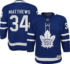 Auston Matthews #34 Toronto Maple Leafs NHL Youth Premier Home Jersey - Blue