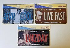 James Dean Novelty Car Truck License Plate Metal Auto Tag Retro Collector Series