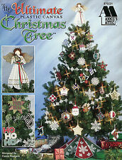 The Ultimate Plastic Canvas Christmas Tree, Annie's plastic canvas patterns RARE