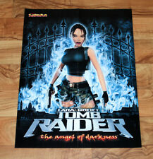 Tomb Raider The Angel of Darkness / Anno 1503 Rare Poster 55x42cm PlayStation 2
