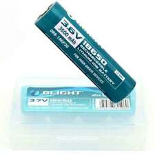 OLight lithium 3600mAh 2 x 18650 3.6V Protected Rechargeable Battery