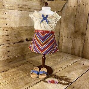 American Girl Julie's Summer Skirt Set - RETIRED