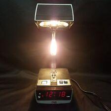 Vintage Mid-Century COSMO TIME Desk Hi/Lo Lamp & Alarm Clock 70s EAMES Space Age