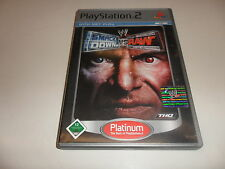 PLAYSTATION 2 PS 2 WWE SmackDown vs. Raw PLATINUM []