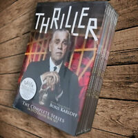 Thriller The Complete Series DVD 2010 14-Disc Set Fast shipping Priority Mail