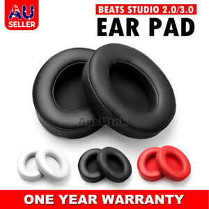 Soft Replacement Ear Pads for Beats by Dr. Dre Studio 2.0 / 3.0 Wired & Wireless