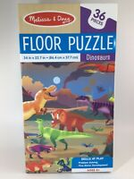 Melissa & Doug Educational Dinosaur 36 Pc Floor Puzzle, Development, 34X22.7 in