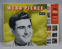 "Webb Pierce LP, ""Debut, Self Titled"", Decca, DL-8129, Vinyl, VG/VG+, R-0095"