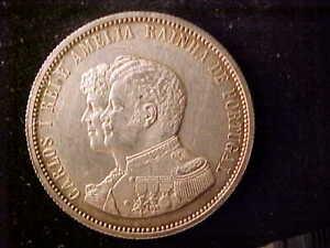 PORTUGAL 1000 REIS 1898 CLEANED