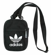 Adidas Originals Festival Bag Trefoil Black Mini Cross Bag New Shoulder Bag