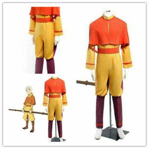 Hot!Custom-made Avatar The Last Airbender Aang Cosplay Costume