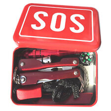 Portable Multi-function Outdoor Emergency Supply SOS Survival Equipment Kit Set