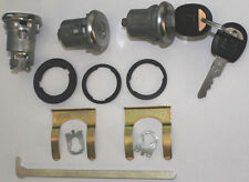New CHECKER GM OEM Chrome Doors/Trunk Lock Key Cylinder Set With Keys To Match