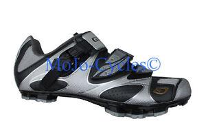 Giro Sica Carbon EC70 Women's Mountain bike shoes Silver Black New