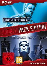 DEUS EX Double Pack: DEUS EX & Deus Ex: INVISIBLE WAR - USK 18 - PC - NEU & OVP