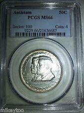 1937 50C Antietam Silver Commemorative- MS66
