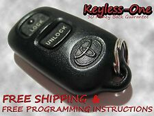 "03-08 TOYOTA COROLLA ""LE"" KEYLESS ENTRY REMOTE OEM FOB GQ43VT14T 04 05 06 07"