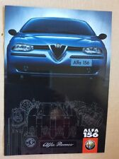 ALFA ROMEO 156 1.6 1.8 2.0 T.Spark 2.5 V6 24V 1.9 JTD 2.4 JTD Prospekt von 1997
