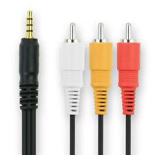 Cable vídeo para Samsung VP-D107 VP-D301 VP-D303 VP-D305 VP-D307 SMX-K45 VP-MS10