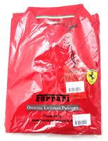 "Ferrari Herren Polo-Shirt ""Classic"" Gr. XL Rot 100% Baumwolle Logo Shell"