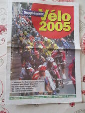 VELO : VELO ANNEE 2005 - CALENDRIERS - EQUIPES - RESULTATS - 24/02/2005