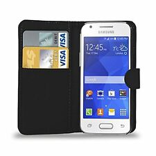 Leather Wallet Flip Case Cover for SAMSUNG GALAXY ACE 4