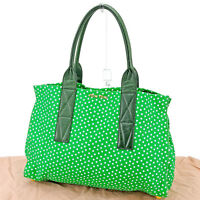 miumiu Tote bag Green White Woman Authentic Used T719