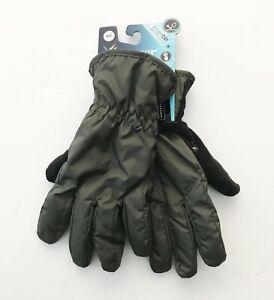 ISOTONER Signature Men's SmartDRI Touchscreen Gloves, Dark Sage, Size M, NWT