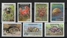 (W1191) TANZANIA, 1994, MARINE LIFE, MI 1191, MNH/UM, SEE SCAN