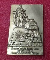 Monument to Killed Soldiers WW2 medal Story of 2  Hero's American and Russsian