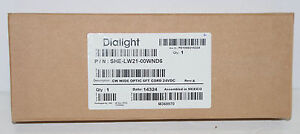 *NEW* Dialight SHELW2100WND6 Compact High Intensity LED Downlight WHITE