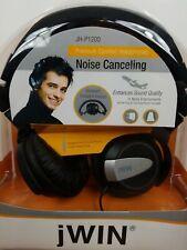 New jWin Noise Canceling Headphones JH-P1200 Premium Comfort Headphones