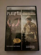 Platoon/Windtalkers Charlie Sheen, Nicolas Cage Dvd Free Shipping Pre-owned
