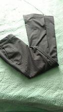 Gap Women's Size 4 Gray Pinstriped Stretch Hip Slug Fit Dress Pants