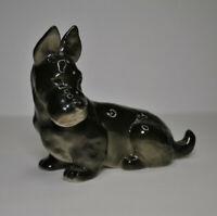 Lomonosov PORCELAIN Figurine DOG Scottish Terrier