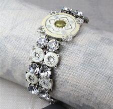 PILGRIM Bracelet Vintage Silver White Clear Swarovski EASTERN ESSENCE BNWT