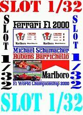 ANEXO DECAL SLOT 1/32 FERRARI F1 2000 MICHAEL SCHUMACHER – RUBENS BARRICHEL (04)