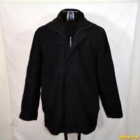 Weatherproof Wool Jacket Coat Mens Size XL Charcoal gray insulated zippered